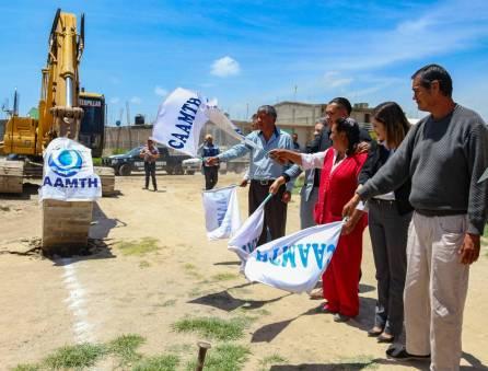 Gabriel García Rojas reconoce vulnerabilidad de la comunidad de El Carmen y arranca nueva obra a cargo de la CAAMTH2