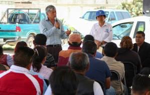 Gabriel García Rojas reconoce vulnerabilidad de la comunidad de El Carmen y arranca nueva obra a cargo de la CAAMTH5