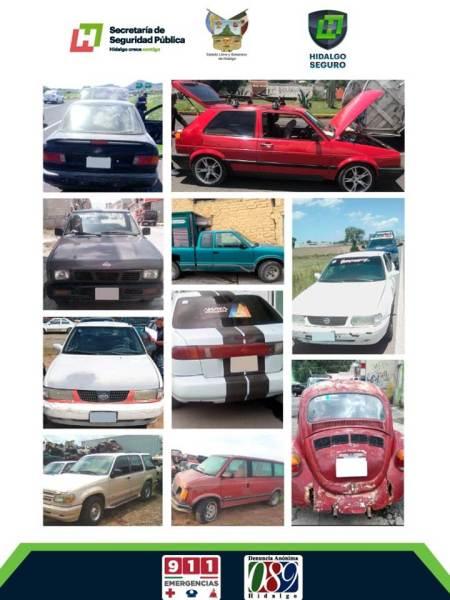 Grupo Correcaminos de Policía Estatal, enfocado en recuperación de vehículos robados