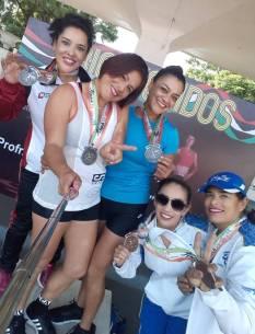 Hidalguenses brillan en nacional de Atletismo Máster2