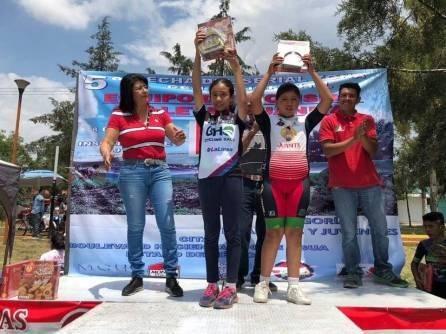 Hidalguenses suben al podio en la quinta fecha del Serial de Zona Centro de Ciclismo Infantil 1