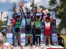 Hidalguenses suben al podio en la quinta fecha del Serial de Zona Centro de Ciclismo Infantil 2