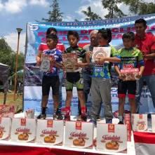 Hidalguenses suben al podio en la quinta fecha del Serial de Zona Centro de Ciclismo Infantil 3