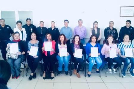 IMM concluye satisfactoriamente curso de manejo dirigido a mujeres en Mineral de la Reforma