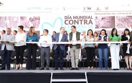 Inauguran Feria de Difusión y Prevención Contra la Trata de Personas en Hidalgo2