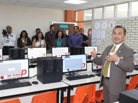 Inauguró UTTT el ETAP Power Lab2