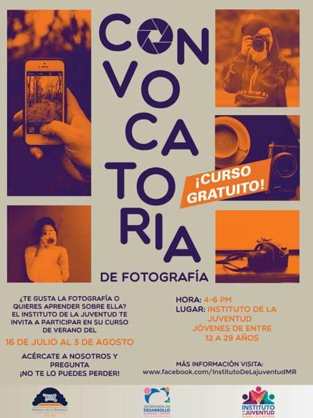 Instituto de la Juventud de Mineral de la Reforma invita a talleres gratuitos de fotografía y creatividad