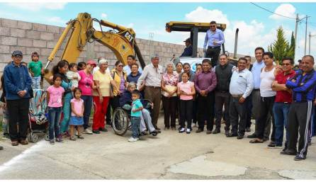 La CAAMTH inicia construcción de Dren Pluvial en el Fraccionamiento Hacienda Las Torres II en Tizayuca