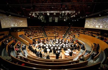 """Magnífica interpretación de Sinfonía """"Titán"""", en cierre de OSUAEH"""