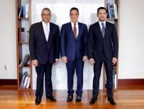 Omar Fayad sostiene reunión con Raúl Arroyo nuevo Procurador General de Justicia en el Estado de Hidalgo2