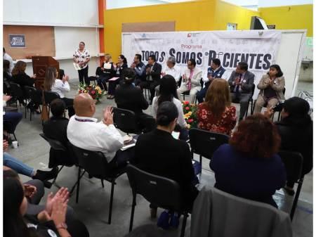 Organiza SSH en Villa Ocaranza talleres y pláticas sobre empatía y trato digno
