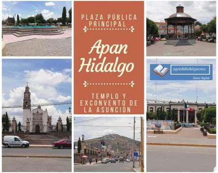 Plaza principal de Apan