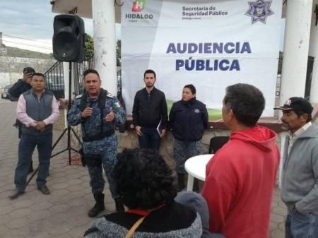 Policía Estatal implementa audiencias públicas en colonias y comunidades de Hidalgo1.jpg
