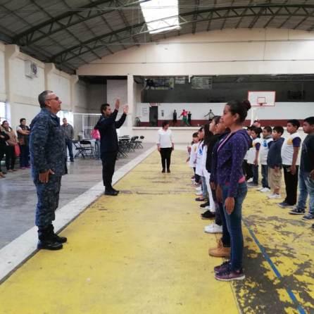 Policía Municipal de Tizayuca brinda Curso de Verano para generar mayor proximidad social3