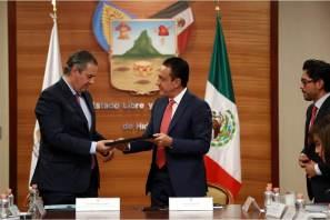 Presenta Hidalgo su Carta de Intención para contar con una Zona Económica Especial