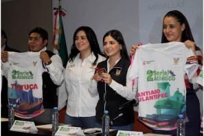 """Presentaron segunda edición del Serial Atlético """"Dejando Huella en Hidalgo"""""""
