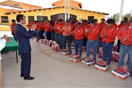 Reconoce Gobierno de Hidalgo labor de combatientes de incendios forestales
