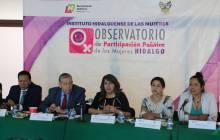 Reforzar la encomienda en materia de formación de liderazgos políticos de las mujeres mediante el OPPM HGO3