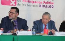 Reforzar la encomienda en materia de formación de liderazgos políticos de las mujeres mediante el OPPM HGO5