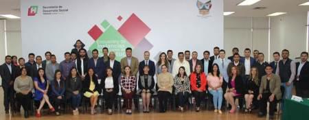 Sedeso reúne instancias de la juventud de 60 municipios