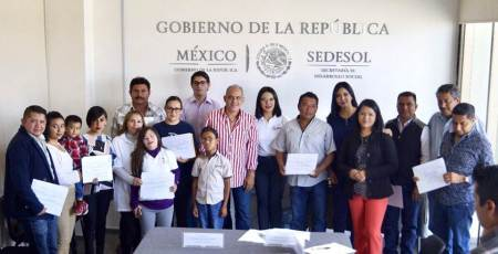 Sedesol impulsa acciones de inclusión social en Hidalgo