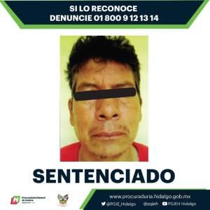 Sentencia condenatoria de 31 años de prisión en contra de un hombre por el delito de feminicidio