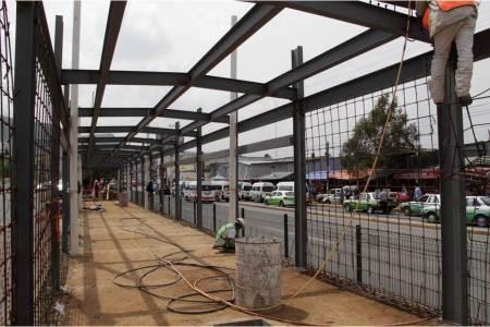 SOPOT continúa con los trabajos de la nueva estación del Sistema Tuzobús2