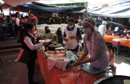 SSH a través de Copriseh implementa vigilancia sanitaria durante Feria de la Barbacoa en Actopan