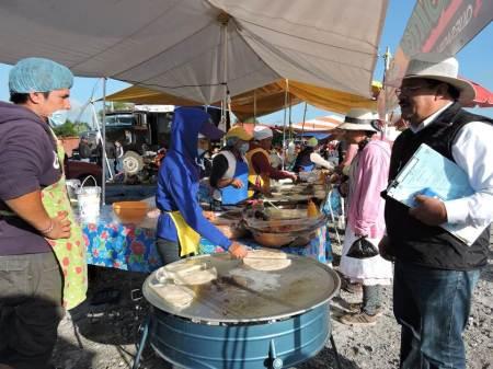 SSH y COPRISEH participan en operativo durante peregrinación a pie de Querétaro al Tepeyac 2018-2