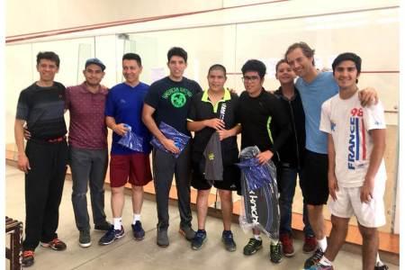 Surgen los campeones del Primer Torneo de Squash