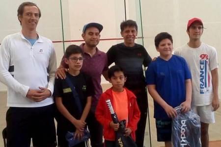 Surgen los campeones del Primer Torneo de Squash2
