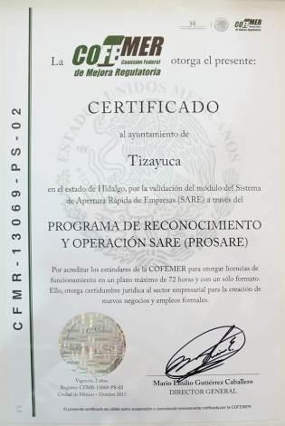 Tizayuca Segundo Municipio De La Entidad En Recibir La