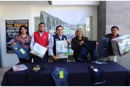 Todo listo para la Expo Feria Textil en Tepeyahualco2