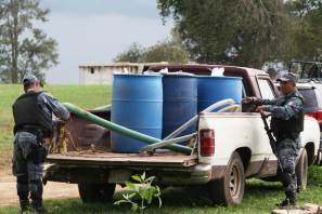 Aseguran en Hidalgo 328 mil litros de hidrocarburo, 112 personas y 369 vehículos