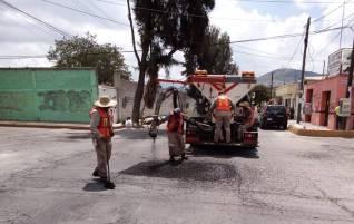 Atienden reportes de mantenimiento de manera permanente en Pachuca1