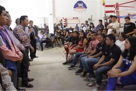 Celebra Mineral de la Reforma 10° aniversario de la Escuela Municipal de Box4