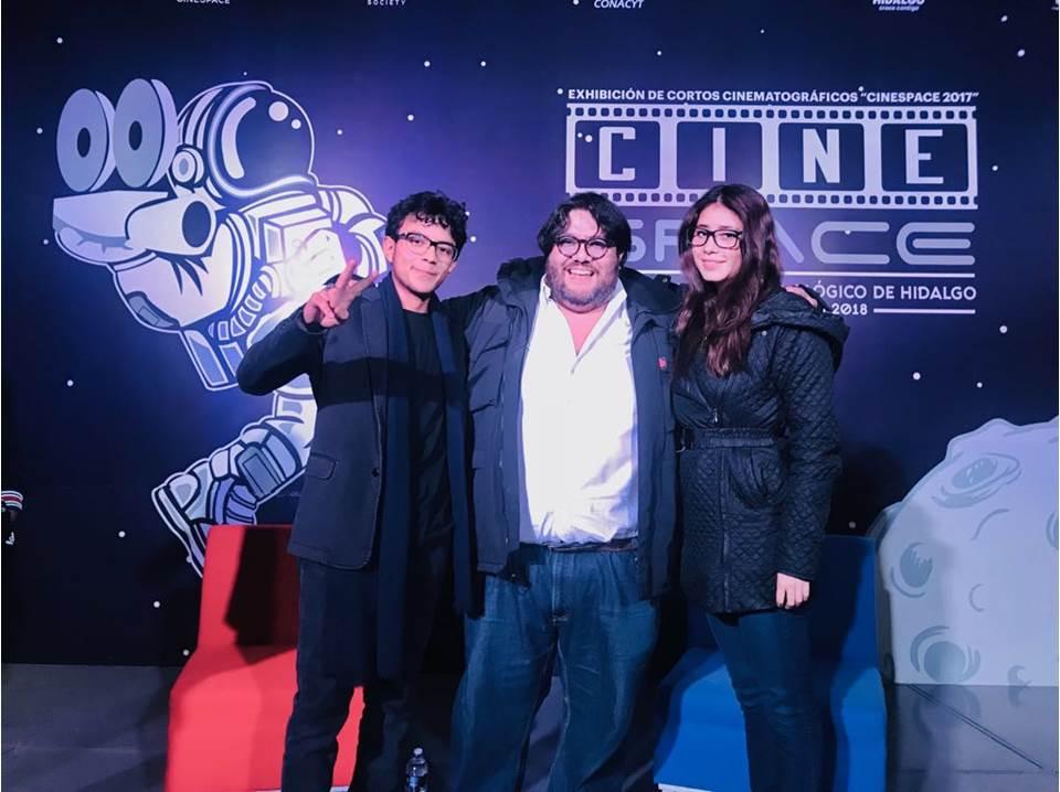 Cineasta mexicano galardonado por la NASA fue parte del CineSpace4