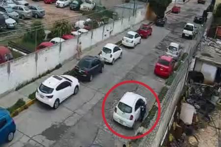 Con botón de alertamiento, ciudadanos denuncian probable robo en Pachuca; un detenido