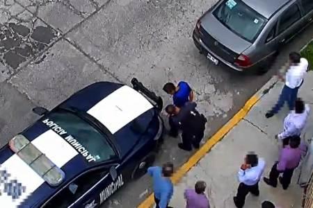 Con botón de alertamiento, ciudadanos denuncian probable robo en Pachuca; un detenido2