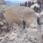 Confirman autoridades todo el apoyo para familiares y víctimas de derrumbe en una mina ubicada en Francisco I. Madero