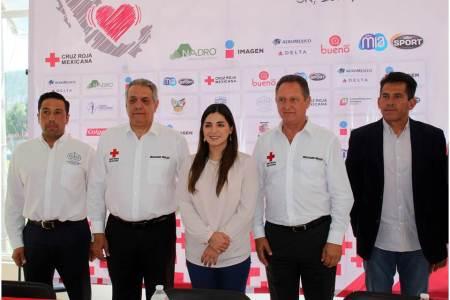 "Cruz Roja presentó la carrera atlética ""Todo México salvando vidas""2"