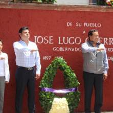 Daniel Rolando Jiménez Rojo encabezó aniversario luctuoso de José Lugo Guerro3