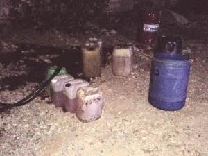 Detienen a individuo en toma clandestina de hidrocarburo