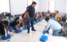 """Dirección de PC en Mineral de la Reforma, imparte curso """"Primer Respondiente"""" a estancias SEDESOL 1"""