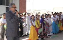 Encabeza secretario de Educación Pública Lunes Cívico en la Primaria Arnulfo Islas1