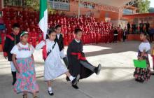Encabeza secretario de Educación Pública Lunes Cívico en la Primaria Arnulfo Islas4