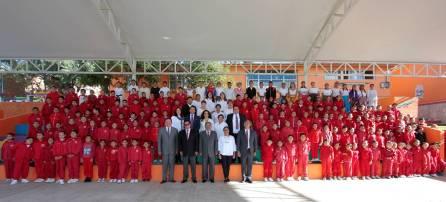 Encabeza secretario de Educación Pública Lunes Cívico en la Primaria Arnulfo Islas5