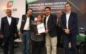 Gobierno de Hidalgo reconoce a través de la SSH a jubilados y pensionados de los Servicios de Salud1