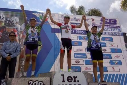 Gran actuación de ciclistas hidalguenses en Aguascalientes