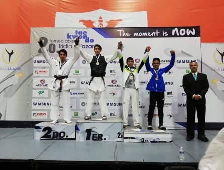 Hidalguenses conquistan podios en el Torneo Abierto de TKD 1